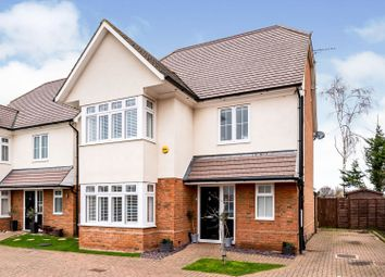 Thumbnail 4 bed detached house for sale in Dorset Close, Chessington