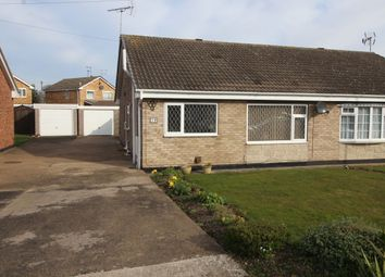 Thumbnail 2 bed bungalow for sale in Horninglow Close, Doncaster