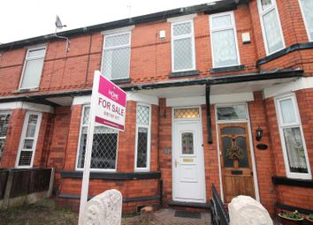 Thumbnail 3 bed terraced house for sale in Roseneath Road, Urmston, Manchester