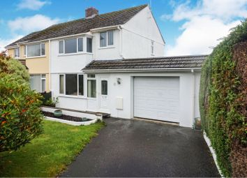 Thumbnail 3 bed semi-detached house for sale in Queens Crescent, Bodmin