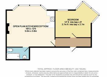 Thumbnail 1 bed flat for sale in Hirani Court, Sevington Road, Hendon