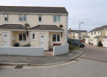 Thumbnail 3 bed end terrace house for sale in Chegwin Gardens, Newquay