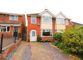 Thumbnail 4 bedroom semi-detached house for sale in Sandhurst Road, Leicester