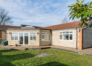 Thumbnail 6 bed detached bungalow for sale in Bourne Road, Colsterworth, Grantham