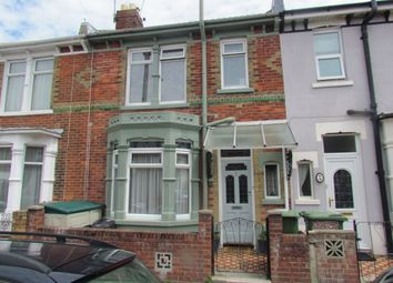 Thumbnail 3 bed terraced house to rent in Catisfield Road, Southsea