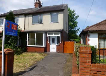 Thumbnail 3 bedroom semi-detached house to rent in Studholme Avenue, Penwortham, Preston