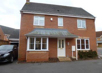 Thumbnail 3 bedroom detached house to rent in Thistley Close, Thorpe Astley, Leicester.