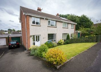 Thumbnail 3 bedroom semi-detached house for sale in Cloverdale Road, Lisburn