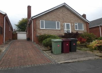 Thumbnail 3 bed detached bungalow to rent in Hilltop Road, Wingerworth, Chesterfield.