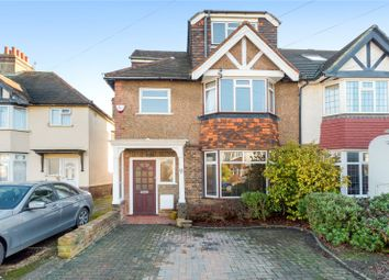 Thumbnail 4 bedroom semi-detached house for sale in Chelston Avenue, Hove, East Sussex