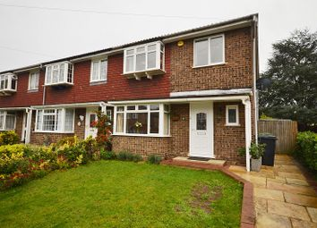 Thumbnail 4 bed end terrace house for sale in Huntsmoor Road, West Ewell, Surrey.