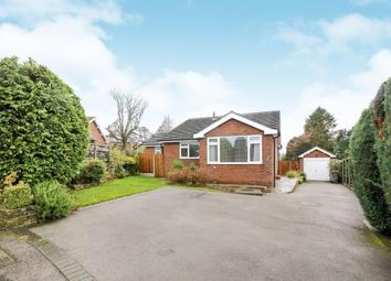 Thumbnail 4 bed bungalow for sale in Whitesmead Close, Disley, Stockport, Cheshire