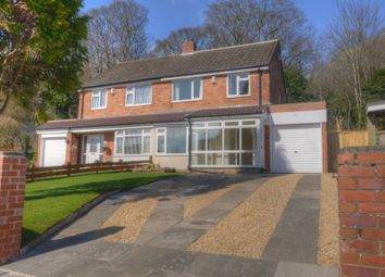 Thumbnail 3 bed semi-detached house for sale in Valeside, Throckley, Newcastle Upon Tyne
