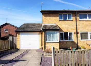 Thumbnail 2 bed semi-detached house for sale in Richardson Close, Broughton Astley