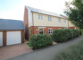 Thumbnail 3 bed semi-detached house for sale in Newton Avenue, Aylesbury