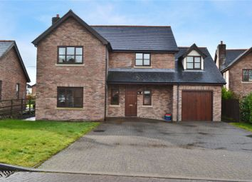 Thumbnail 3 bed detached house for sale in Parc Derw, Bryndu Road, Llanidloes, Powys