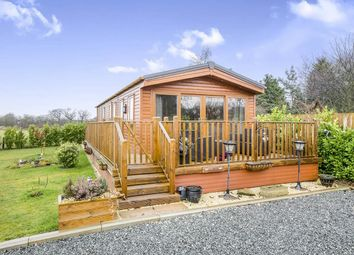 Thumbnail 2 bedroom bungalow for sale in Cliffe Country Lodges, Cliffe Common, Selby