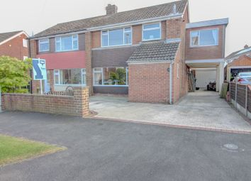 Thumbnail 4 bed semi-detached house for sale in Manlake Avenue, Winterton, Nr. Scunthorpe