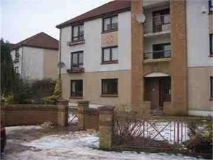 Thumbnail 3 bed flat for sale in Columba Crescent, Motherwell, North Lanarkshire