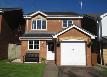 Thumbnail 3 bed detached house for sale in Stoke Firs Close, Wootton, Northampton