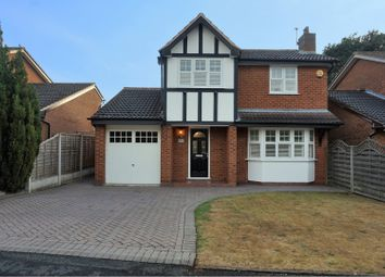 Thumbnail 4 bed detached house for sale in Ferndown Close, Walsall