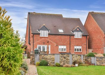 Thumbnail 4 bed detached house for sale in Longcliff Close, Old Dalby, Melton Mowbray