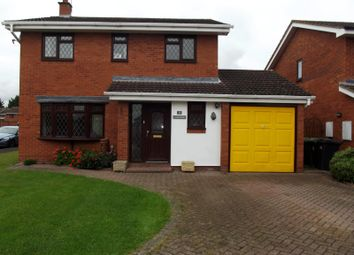 Thumbnail 4 bed detached house to rent in Falstaff Drive, Droitwich