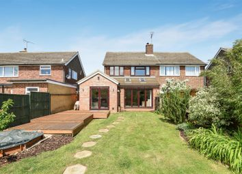 Thumbnail 3 bed semi-detached house for sale in The Cheveralls, Dunstable