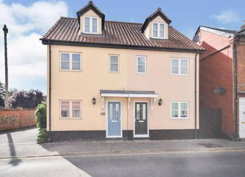 Thumbnail 3 bed semi-detached house for sale in East Harling, Norwich, Norfolk