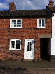 Thumbnail 2 bedroom terraced house to rent in Church Lane, Muston, Nottingham