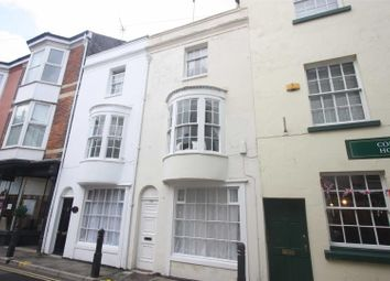 Thumbnail 4 bed town house for sale in Maiden Street, Weymouth