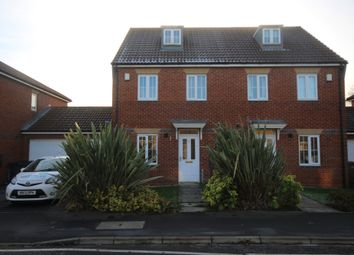 Thumbnail 3 bed semi-detached house for sale in Greyfriars Lane, Longbenton