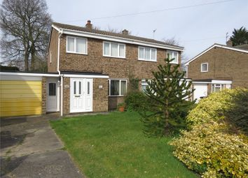 Thumbnail 3 bed semi-detached house for sale in Manor Grove, St. Neots, Cambridgeshire