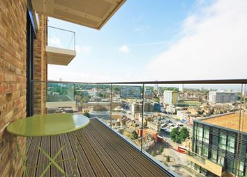 Thumbnail 1 bed flat to rent in Compton House, Woolwich