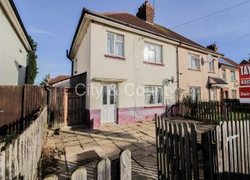 Thumbnail 3 bedroom semi-detached house for sale in Kingsley Road, Peterborough