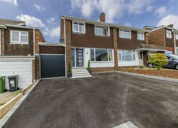 Thumbnail 3 bed semi-detached house for sale in Ormond Close, Fair Oak, Eastleigh, Hampshire