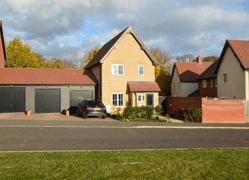 Thumbnail 3 bed link-detached house for sale in Maxim Lane, Clare, Sudbury