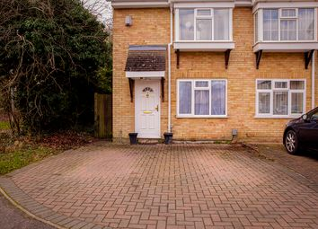 Thumbnail End terrace house for sale in Halleys Way, Houghton Regis, Dunstable