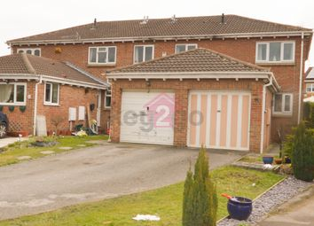 Thumbnail 2 bedroom semi-detached house for sale in Grizedale Avenue, Sothall, Sheffield