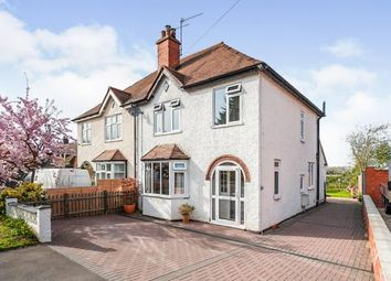 Thumbnail 3 bed semi-detached house for sale in Bretforton Road, Badsey, Evesham, Worcestershire