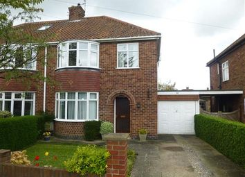 Thumbnail 3 bedroom semi-detached house for sale in Oakland Avenue, Stocton Lane, York
