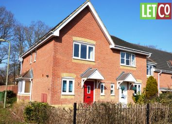Thumbnail 2 bed end terrace house to rent in Oak Coppice Road, Whiteley, Fareham