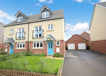 Thumbnail 4 bed semi-detached house for sale in Homington Avenue, Coate, Swindon