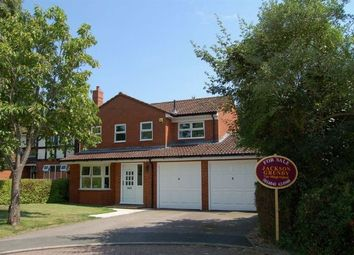 Thumbnail 4 bed detached house for sale in Edwinstowe Close, Abington Vale, Northampton