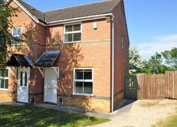 Thumbnail 2 bed semi-detached house for sale in Lupin Road, Lincoln