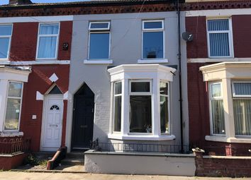 Thumbnail 4 bed terraced house for sale in Broadbelt St, Liverpool