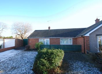 Thumbnail 2 bedroom semi-detached bungalow for sale in Thropton Crescent, Gosforth, Newcastle Upon Tyne