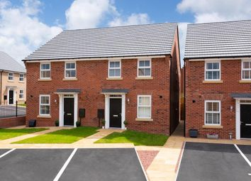 "Thumbnail 3 bed semi-detached house for sale in ""Ashurst"" at Whitby Road, Pickering"