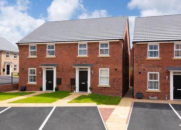 "Thumbnail 3 bedroom semi-detached house for sale in ""Ashurst"" at Bridlington Road, Stamford Bridge, York"