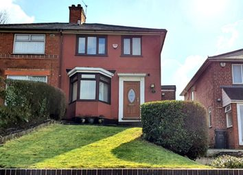 Thumbnail 3 bed semi-detached house for sale in Manor Road, Stechford, Birmingham